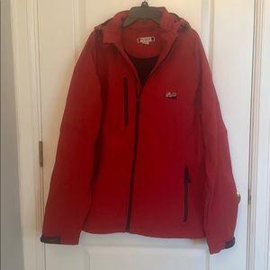 Men's large leinekugel's windbreaker warm jacket